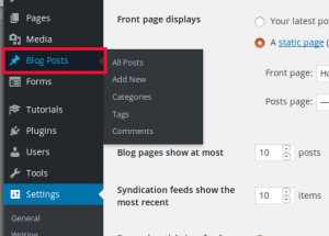 how to create a blog post on WordPress