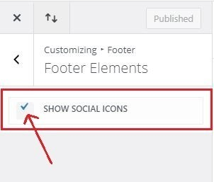 add social icons to divi footer