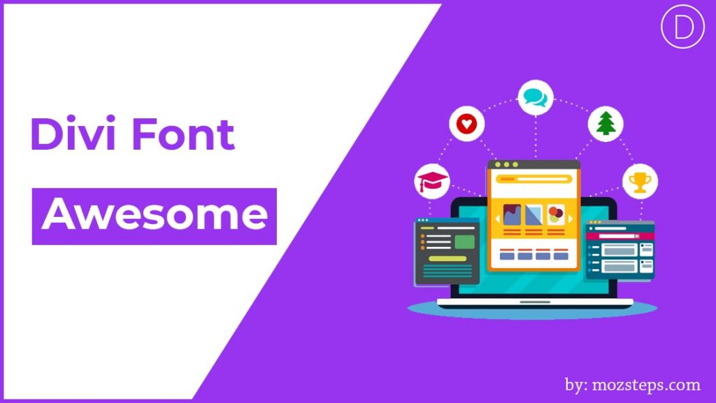 divi font awesome
