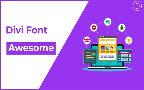 divi font awesome icons