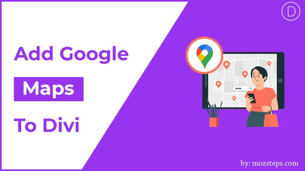 google maps in divi builder